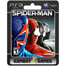Spider Man shattered Dimensions - PS3 midia digital