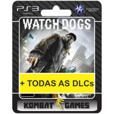 Watch Dogs Gold Edition - PS3 midia digital