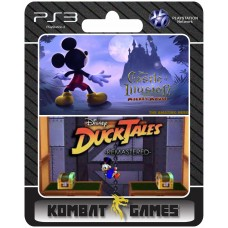 Mickey Castle Of Ilusion + Ducktales - PS3 midia digital